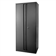 Pinnacle 1830 x 860 x 410mm Black Powder Coated Garage Cabinet