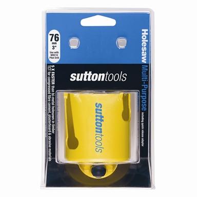 Sutton Tools Tct 76mm Holesaw Multi Purpose Bunnings Warehouse