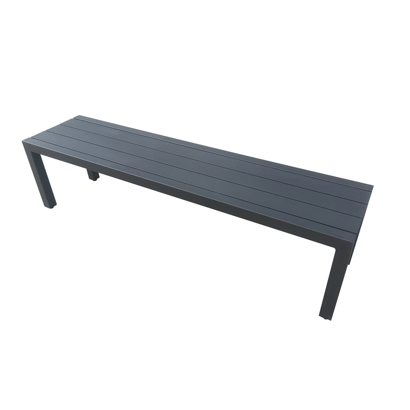 Superb Mimosa 200Cm Aluminium Lava Bench Bunnings Warehouse Pabps2019 Chair Design Images Pabps2019Com