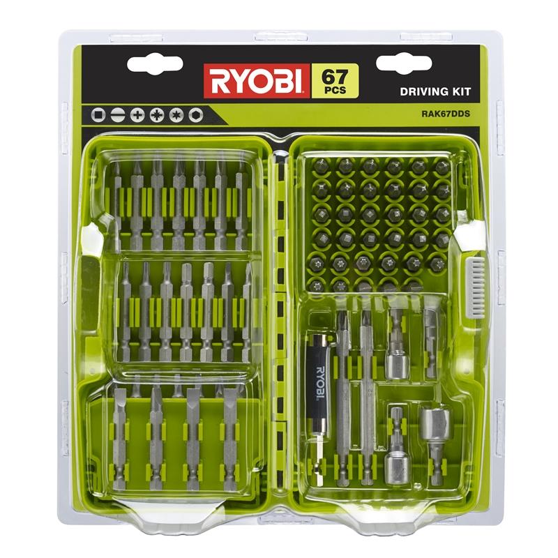 130 Piece RYOBI Drilling /& Screwdriving Bit Set